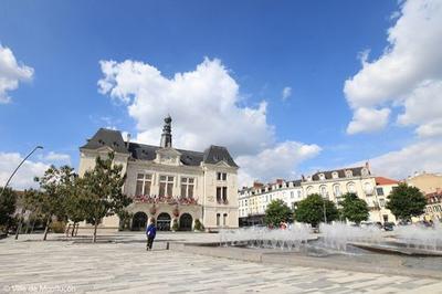 Visite De L'hôtel De Ville De Montluçon. à Montlucon