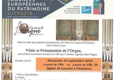 Visite De L'orgue Magen à Fleurance
