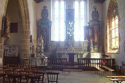 Visite De La Chapelle De Kergrist à Le Faouet