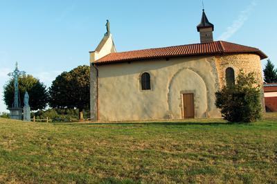 Visite De La Chapelle Notre-dame Du Mont De Gillonnay, Panorama Et Table D'orientation