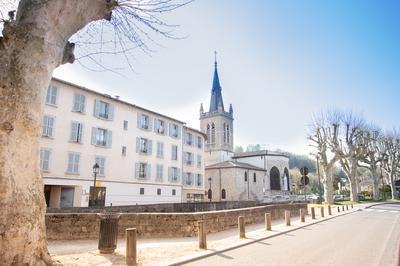 Visite De La Collégiale Notre-dame Des Marais à Montluel