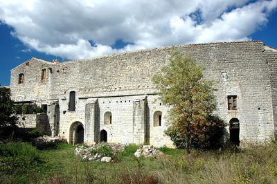 Visite De La Commanderie Des Templiers De Jalès à Berrias et Casteljau