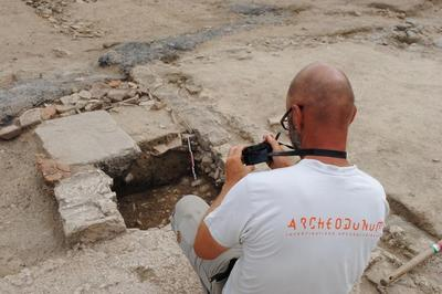 Visite De La Fouille Archéologique De Moingt à Montbrison