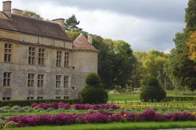 Visite Des Jardins Du Château Du Pailly à Le Pailly