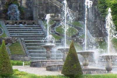 Visite Des Jardins Et Manoeuvres Des Eaux Des Fontaines à Le Touvet