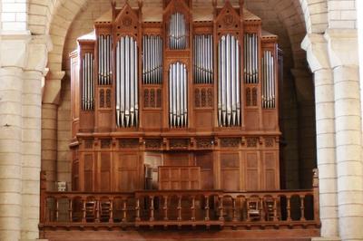Visite Des Orgues De L'église Saint-hilaire De Poitiers