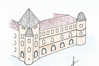 Visite Des Vestiges Du Château De Toulongeon à La Chapelle Sous Uchon