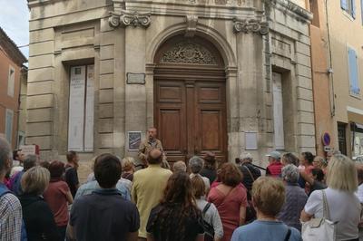 Visite Du Centre Ancien L'actualité Du Patrimoine à L'Isle sur la Sorgue