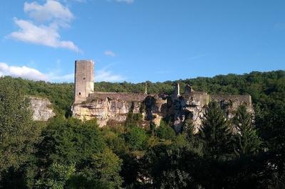 Visite Du Château-fort De Gavaundun à Gavaudun