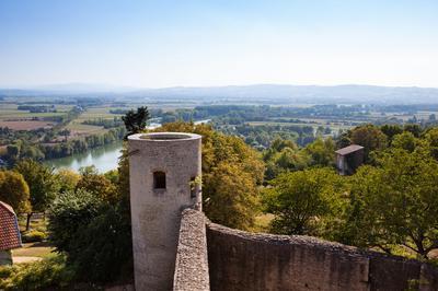 Visite Du Château Fort De Trévoux à Trevoux