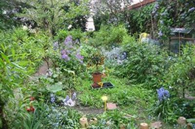 Visite Du Jardin Georgette Boeuf à Boulogne Billancourt