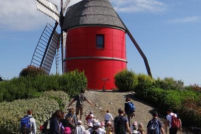 Visite du Moulin à 6 Ailes de Nailloux
