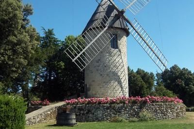 Visite Du Moulin De Montpezat