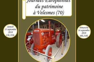 Visite Du Musée Lors Des Journées Européennes Du Patrimoine 2018 à Velesmes Echevanne