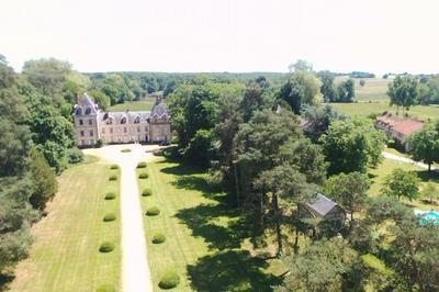 Visite Du Parc Du Château D'auzon à Lucenay les Aix