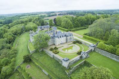 Visite Du Parc Et Du Château De Rosanbo à Lanvellec