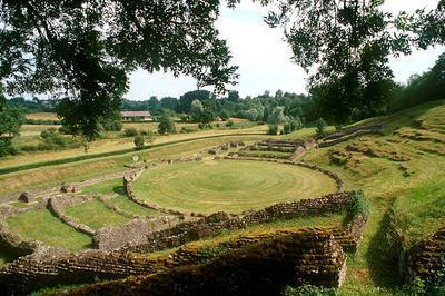 Visite Du Site Gallo-romain De Sanxay