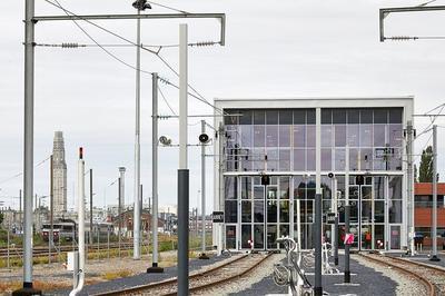Visite Du Technicentre Sncf à Amiens