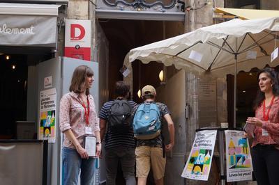 Visite Du Théâtre Des Marronniers Accompagnée Par L'équipe Du Théâtre à Lyon