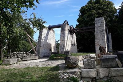 Visite Du Treuil De La Carrière Auboin à Chatillon