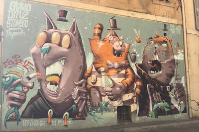 Visite En Famille : Parcours Street Art à Marseille