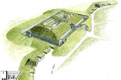 Visite En Nocturne Du Fort De Landaoudec à Crozon
