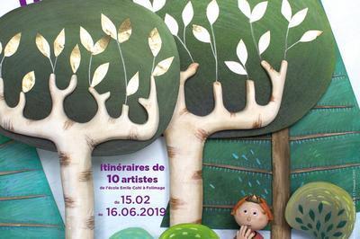Visite Expo- Musée de l'Illustration  à Moulins