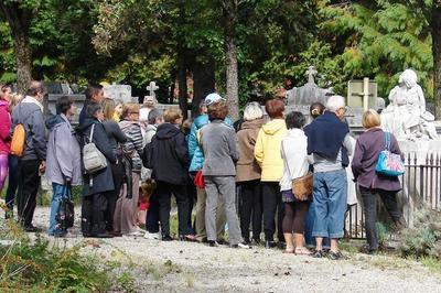Visite Guidée Au Cimetière Saint-roch De Grenoble