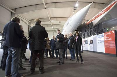 Visite Guidée Concorde & Boeing 747 à Le Bourget