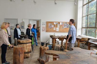 Visite Guidée D'ateliers De L'école à Strasbourg