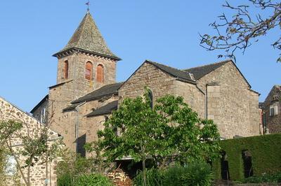Visite Guidée D'une Église À Décors Peints Du Xviie Siècle à Viala du Tarn