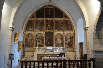 Visite Guidée De L'église Saint Quintin à Galey