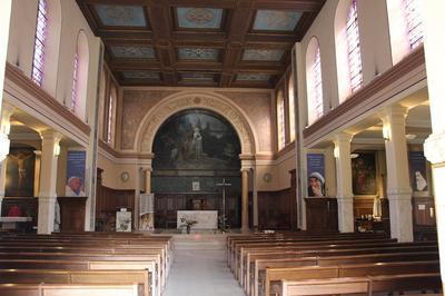 Visite Guidée De L'église Sainte-elisabeth-de-hongrie à Versailles