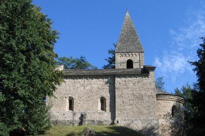 Visite Guidée De L'église Sainte Marie Et De La Chapelle Saint Firmin, Classée Monument Historique à Vaulnaveys le Bas