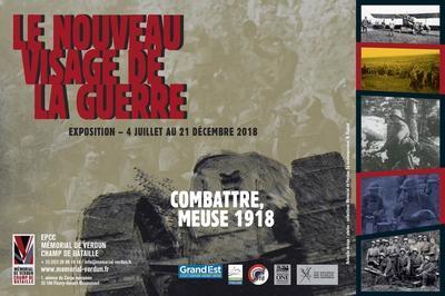 Visite Guidée De L'exposition Le Nouveau Visage De La Guerre. Combattre, Meuse 1918 à Douaumont