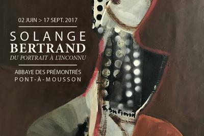Visite Guidée De L'exposition Solange Bertrand, Du Portrait À L'inconnu à Mousson