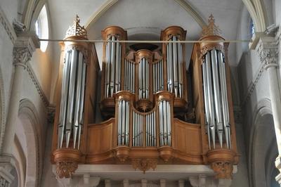 Visite Guidée De L'orgue De Saint Fiacre à Villers les Nancy