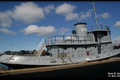 Visite Guidée De L'ustt 488, Remorqueur Portuaire De 1944. à Le Havre