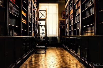 Visite Guidée De La Bibliothèque De L'enva à Maisons Alfort
