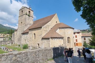 Visite Guidée De La Cathédrale Notre-dame De L'assomption à Senez