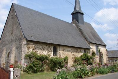 Visite Guidée De La Chapelle De St Martin à Saint Denis d'Anjou
