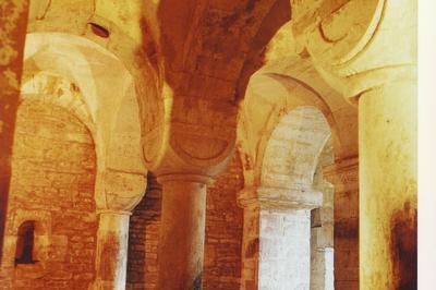 Visite Guidée De La Crypte De L'église Saint-andré à Esley