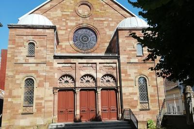 Visite Guidée De La Synagogue De Belfort (1857)