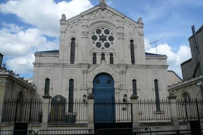 Visite Guidée De La Synagogue De Reims.
