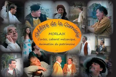 Visite Guidée De La Ville Avec Saynètes (théâtre De La Corniche Morlaix) à Saint Pol de Leon