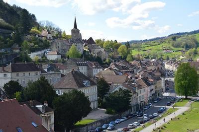 Visite Guidée De La Ville Côté Belin à Salins les Bains