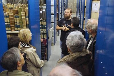 Visite Guidée Des Locaux Des Archives Du Doubs à Besancon