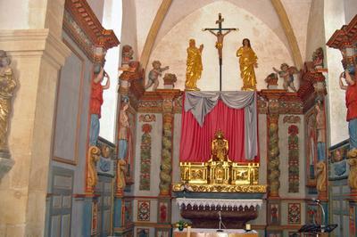Visite Guidée Des Retables De L'église à Parnac