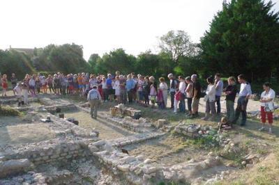 Visite Guidée Des Vestiges Archéologiques à Saint Saturnin du Bois