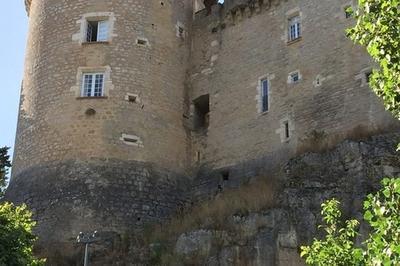 Visite Guidée Du Château De Cabrerets